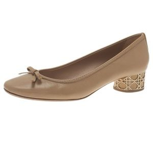 EUC Dior leather heels